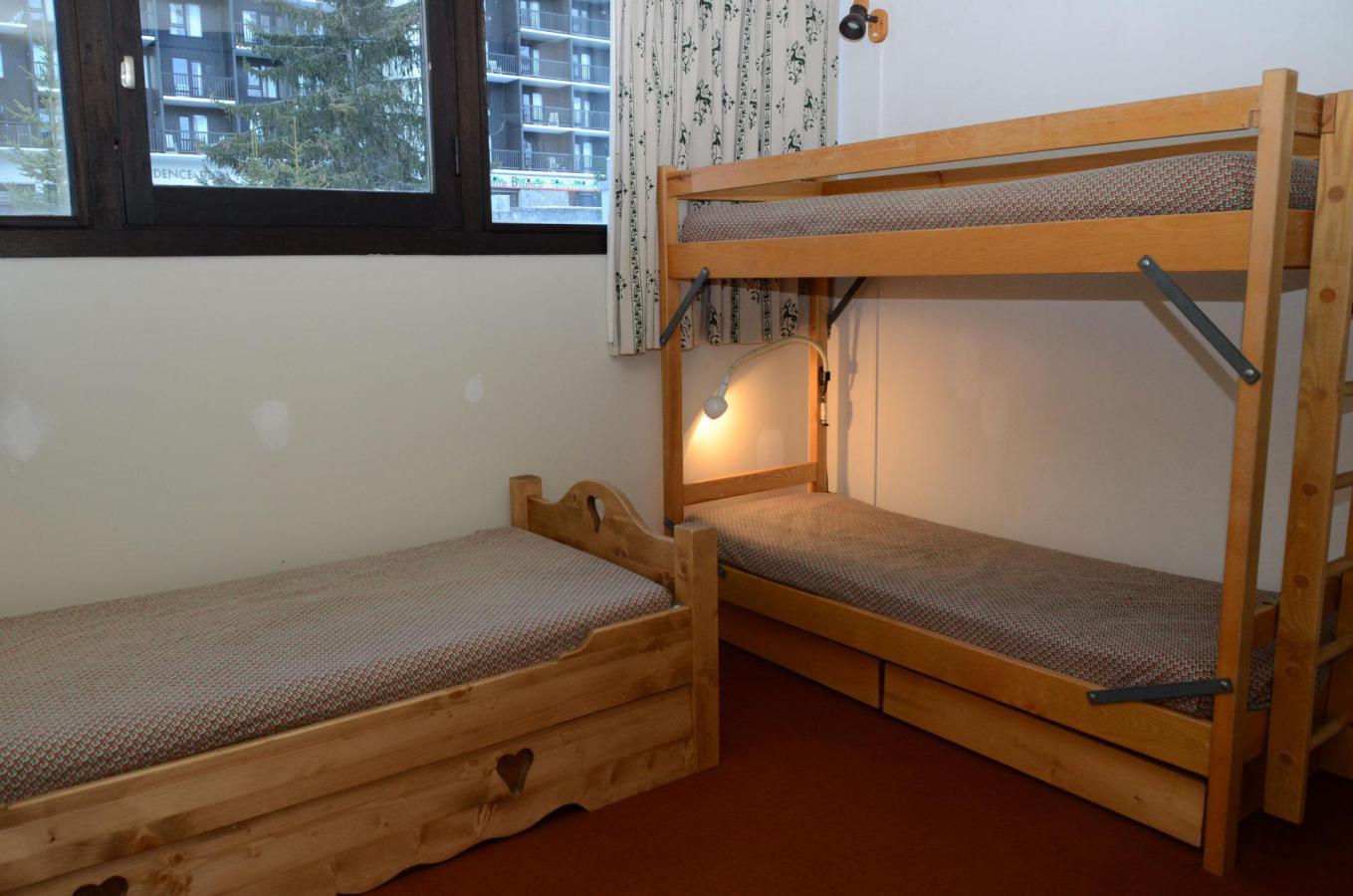 Location au ski Appartement 2 pièces 6 personnes (A2) - Residence Balance - Flaine - Lits superposés