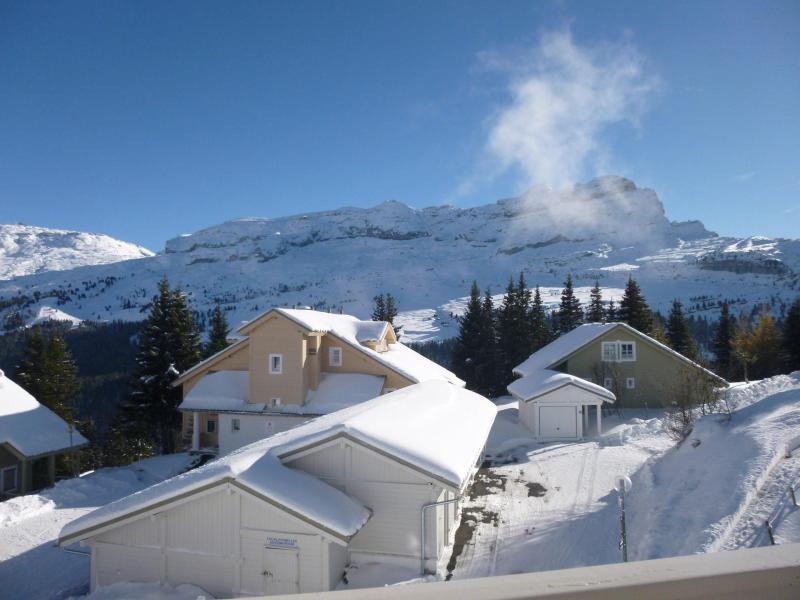 Аренда на лыжном курорте Квартира студия для 4 чел. (C2) - Chalet de l'Arbaron - Flaine - зимой под открытым небом