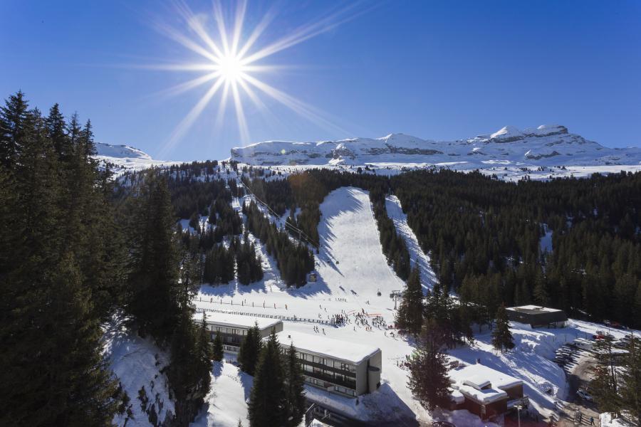Аренда на лыжном курорте Hôtel Club MMV le Flaine - Flaine - зимой под открытым небом