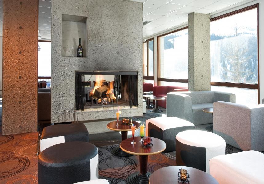 Location au ski Hotel Club Mmv Le Flaine - Flaine - Cheminée