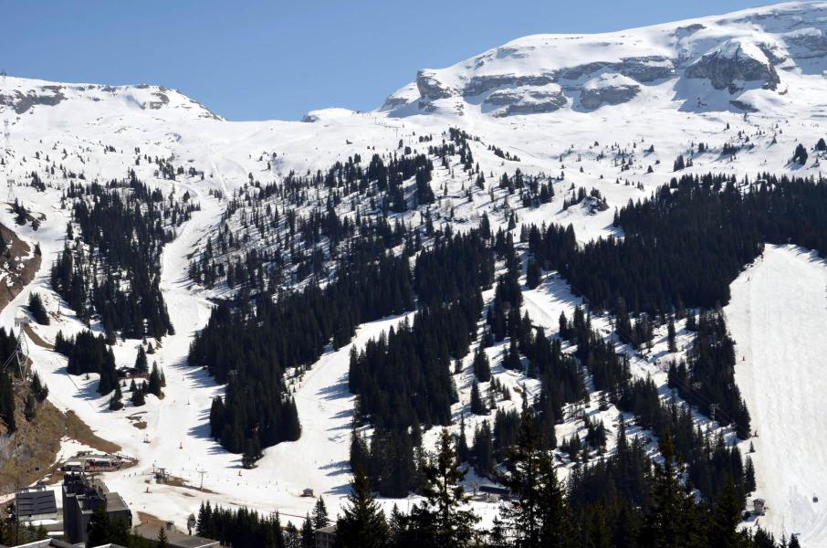 Location au ski Studio 4 personnes (506) - La Residence Andromede - Flaine - Extérieur hiver