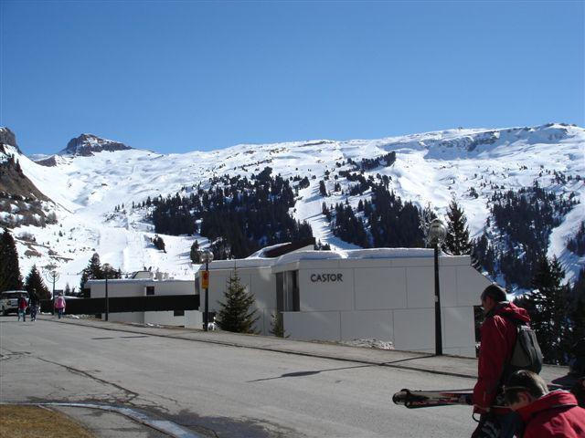 Soggiorno sugli sci La Résidence Castor - Flaine - Esteriore inverno