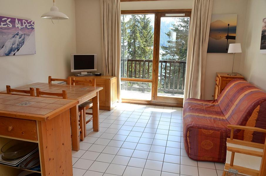 Location au ski Studio 4 personnes (332) - La Residence Castor - Flaine - Tv