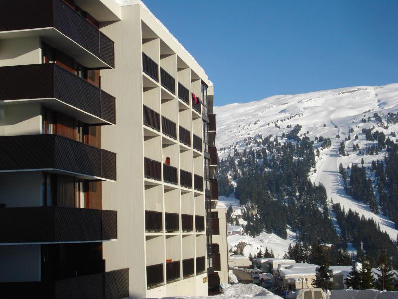Аренда на лыжном курорте La Résidence Doris - Flaine - зимой под открытым небом