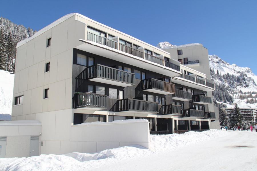 Аренда на лыжном курорте La Résidence Gémeaux - Flaine - зимой под открытым небом