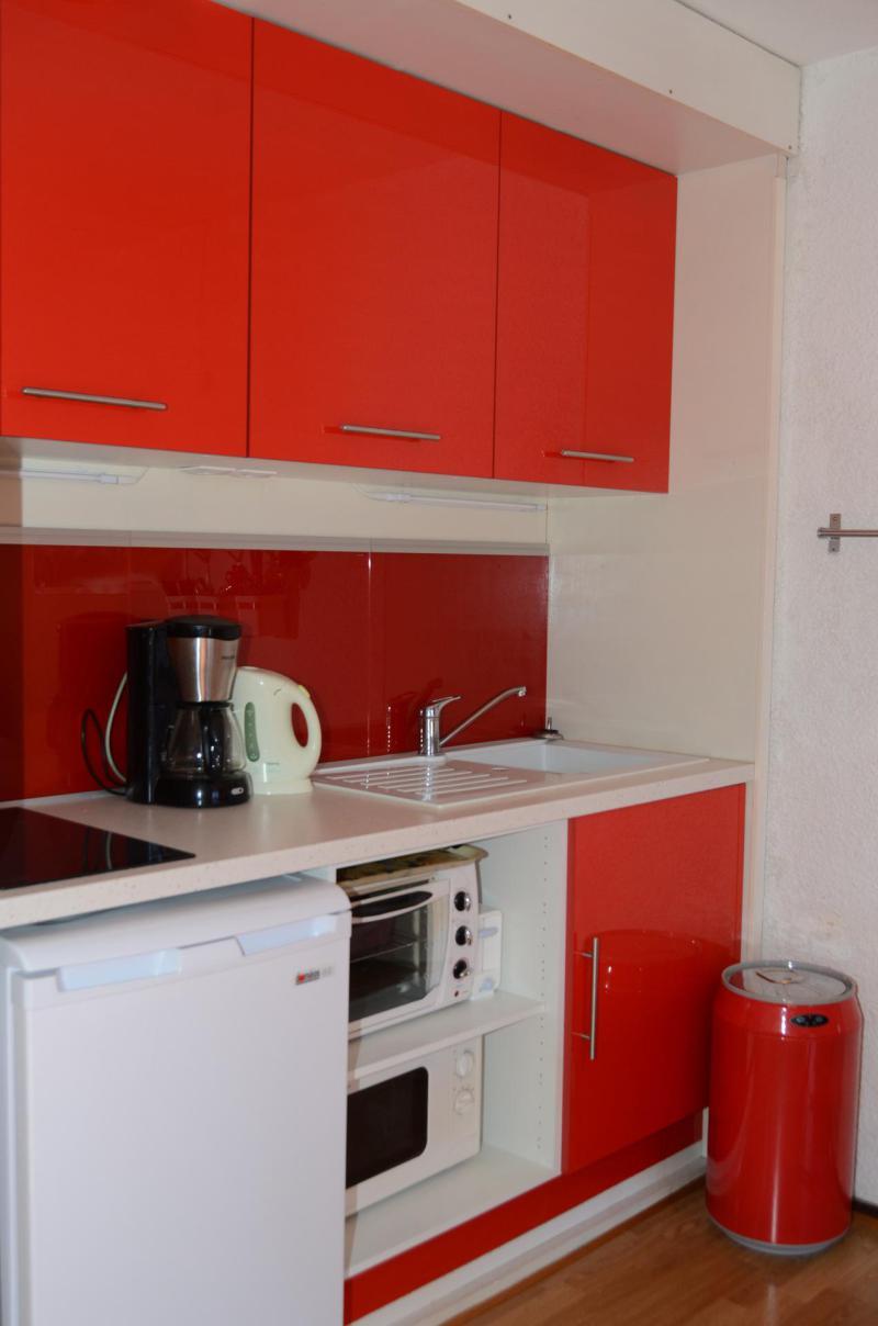 Location au ski Studio 5 personnes (22D9) - La Residence Gemeaux - Flaine - Cuisine