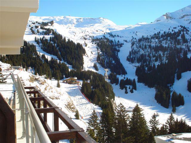 Vacaciones en montaña Apartamento 2 piezas para 4 personas (602) - La Résidence les Terrasses de Véret - Flaine - Invierno
