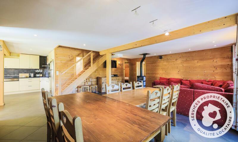 Vacances en montagne Chalet 7 pièces 12 personnes (180m²) - Les Chalets de Flaine Hameau - Maeva Home - Flaine - Table