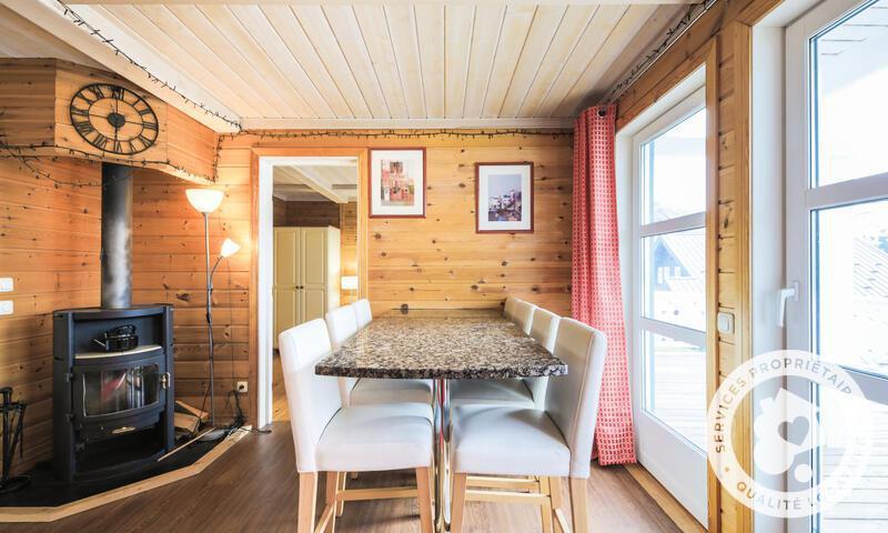 Vacances en montagne Chalet 5 pièces 8 personnes (Prestige 110m²) - Les Chalets de Flaine Hameau - Maeva Home - Flaine - Séjour