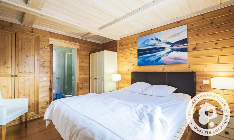 Vacances en montagne Chalet 5 pièces 8 personnes (Prestige 110m²) - Les Chalets de Flaine Hameau - Maeva Home - Flaine - Banquette-lit tiroir