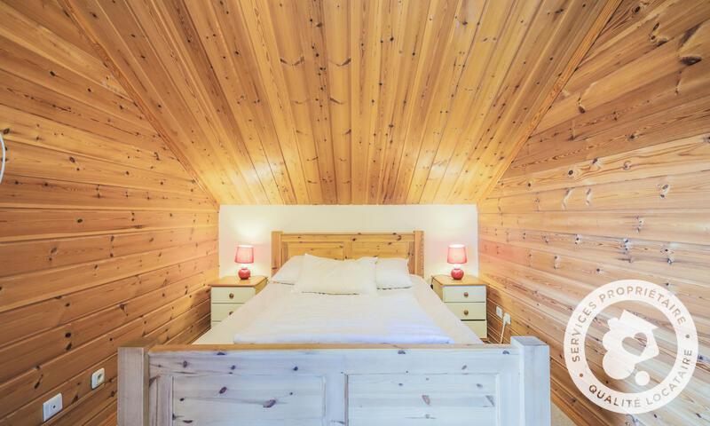 Vacances en montagne Chalet 5 pièces 8 personnes (Prestige 110m²) - Les Chalets de Flaine Hameau - Maeva Home - Flaine - Chambre