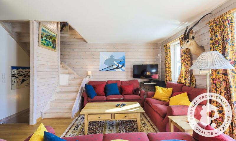 Vacances en montagne Chalet 7 pièces 12 personnes (Sélection 145m²) - Les Chalets de Flaine Hameau - Maeva Home - Flaine - Séjour