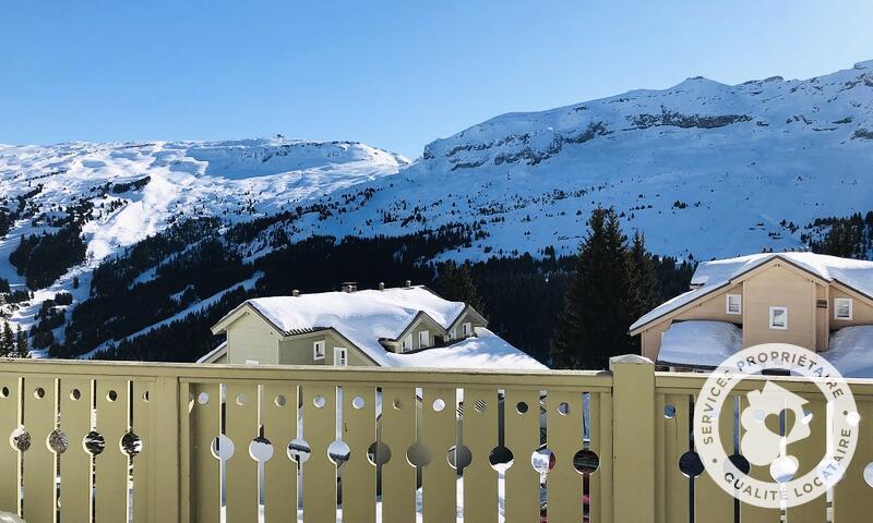 Vacances en montagne Chalet 6 pièces 10 personnes (Confort 125m²) - Les Chalets de Flaine Hameau - Maeva Home - Flaine - Extérieur hiver