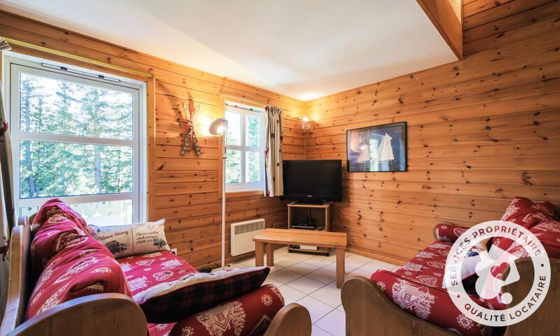 Vacances en montagne Chalet 4 pièces 8 personnes (Sélection 110m²) - Les Chalets de Flaine Hameau - Maeva Home - Flaine - Séjour