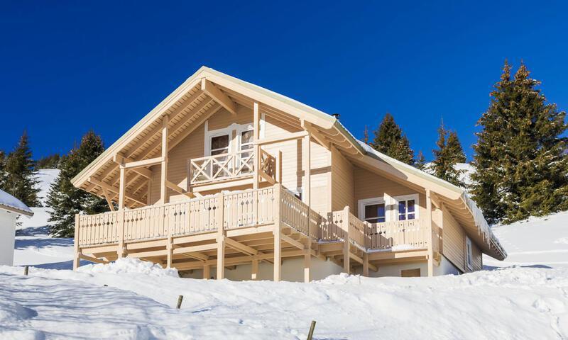 Vacances en montagne Chalet 7 pièces 12 personnes (180m²) - Les Chalets de Flaine Hameau - Maeva Home - Flaine - Extérieur hiver