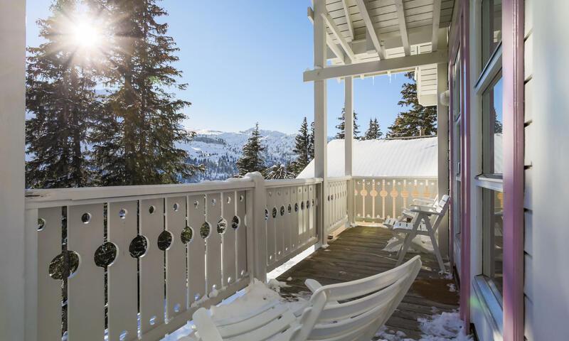 Vacances en montagne Chalet 4 pièces 8 personnes (Sélection 84m²) - Les Chalets de Flaine Hameau - Maeva Home - Flaine - Extérieur hiver
