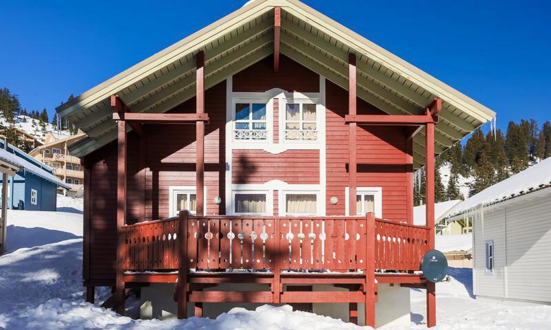 Vacances en montagne Chalet 3 pièces 6 personnes (Confort 70m²) - Les Chalets de Flaine Hameau - Maeva Home - Flaine - Extérieur hiver
