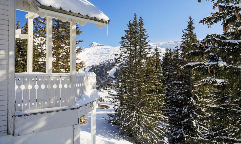 Vacances en montagne Chalet 4 pièces 8 personnes (Confort 110m²) - Les Chalets de Flaine Hameau - Maeva Home - Flaine - Extérieur hiver