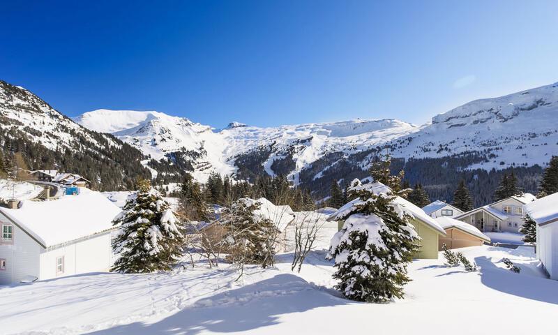 Vacances en montagne Chalet 3 pièces 8 personnes (Confort 84m²) - Les Chalets de Flaine Hameau - Maeva Home - Flaine - Extérieur hiver