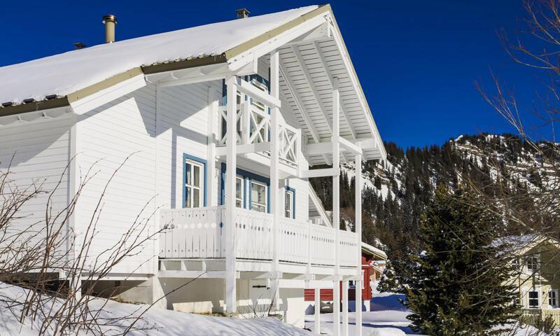 Vacances en montagne Chalet 7 pièces 12 personnes (Sélection 145m²) - Les Chalets de Flaine Hameau - Maeva Home - Flaine - Extérieur hiver