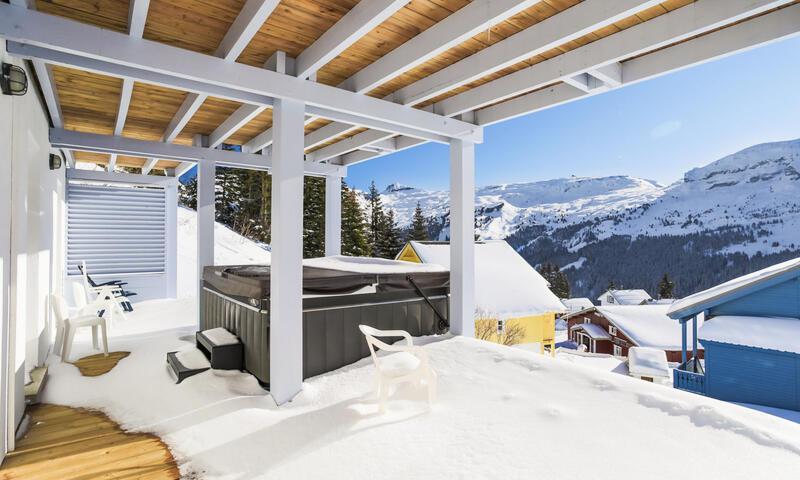 Аренда на лыжном курорте Шале 7 комнат 14 чел. (Prestige 180m²) - Les Chalets de Flaine Hameau - Maeva Home - Flaine - зимой под открытым небом