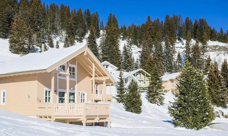 Аренда на лыжном курорте Les Chalets de Flaine Hameau - Maeva Home - Flaine - зимой под открытым небом
