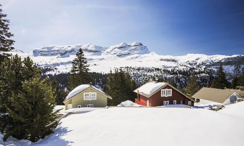 Vacances en montagne Chalet 3 pièces 7 personnes (Confort 70m²) - Les Chalets de Flaine Hameau - Maeva Home - Flaine - Extérieur hiver