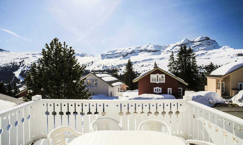 Vacances en montagne Chalet 5 pièces 10 personnes (Sélection 110m²) - Les Chalets de Flaine Hameau - Maeva Home - Flaine - Extérieur hiver