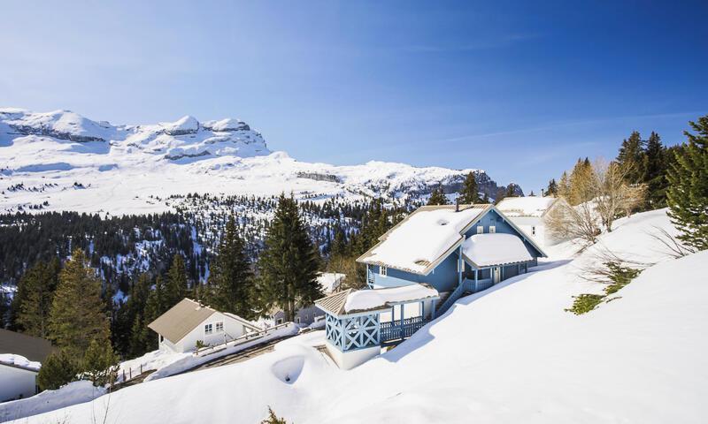 Vacances en montagne Chalet 4 pièces 6 personnes (Prestige 70m²) - Les Chalets de Flaine Hameau - Maeva Home - Flaine - Extérieur hiver