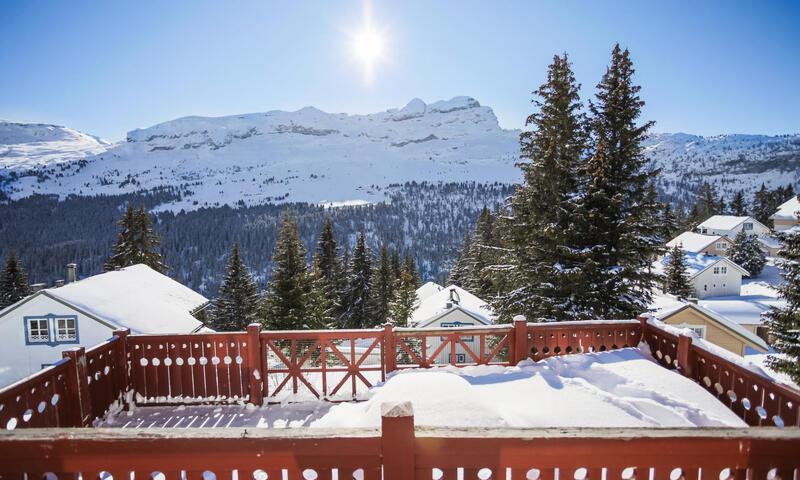 Location au ski Chalet 3 pièces cabine 8 personnes (Confort 70m²) - Les Chalets de Flaine Hameau - Maeva Particuliers - Flaine
