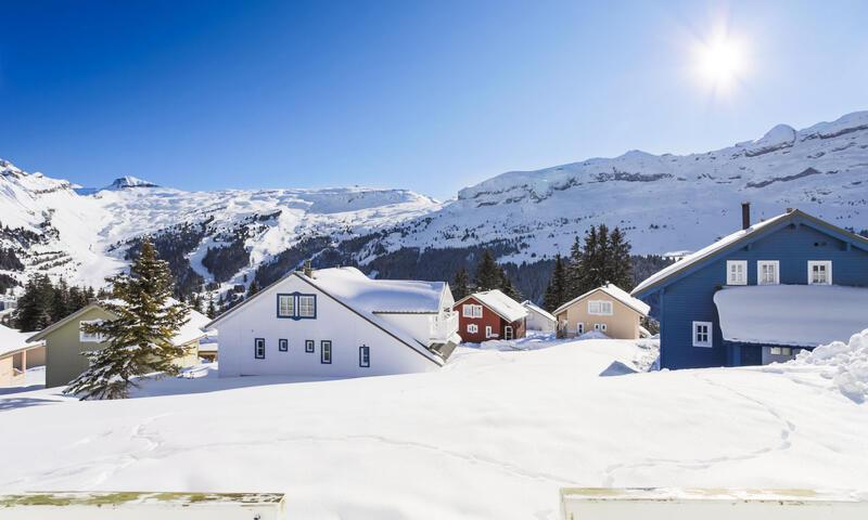 Location au ski Chalet 5 pièces 8 personnes (Sélection 110m²) - Les Chalets de Flaine Hameau - Maeva Particuliers - Flaine