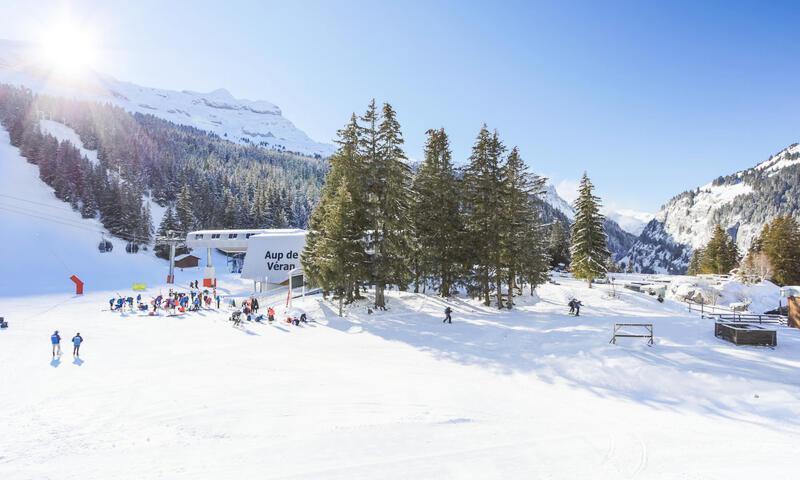 Аренда на лыжном курорте Квартира студия для 4 чел. (Budget 17m²-2) - Résidence Antarès - Maeva Home - Flaine - зимой под открытым небом