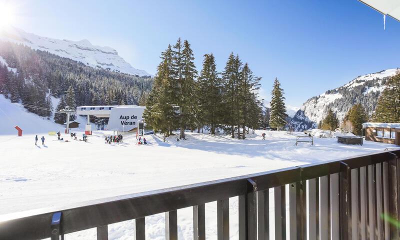 Аренда на лыжном курорте Квартира студия для 4 чел. (Budget 18m²-1) - Résidence Antarès - Maeva Home - Flaine - зимой под открытым небом