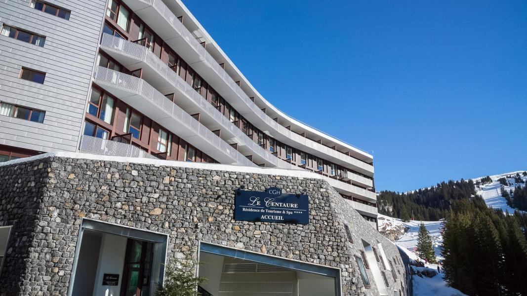 Location au ski Résidence le Centaure - Flaine - Extérieur hiver