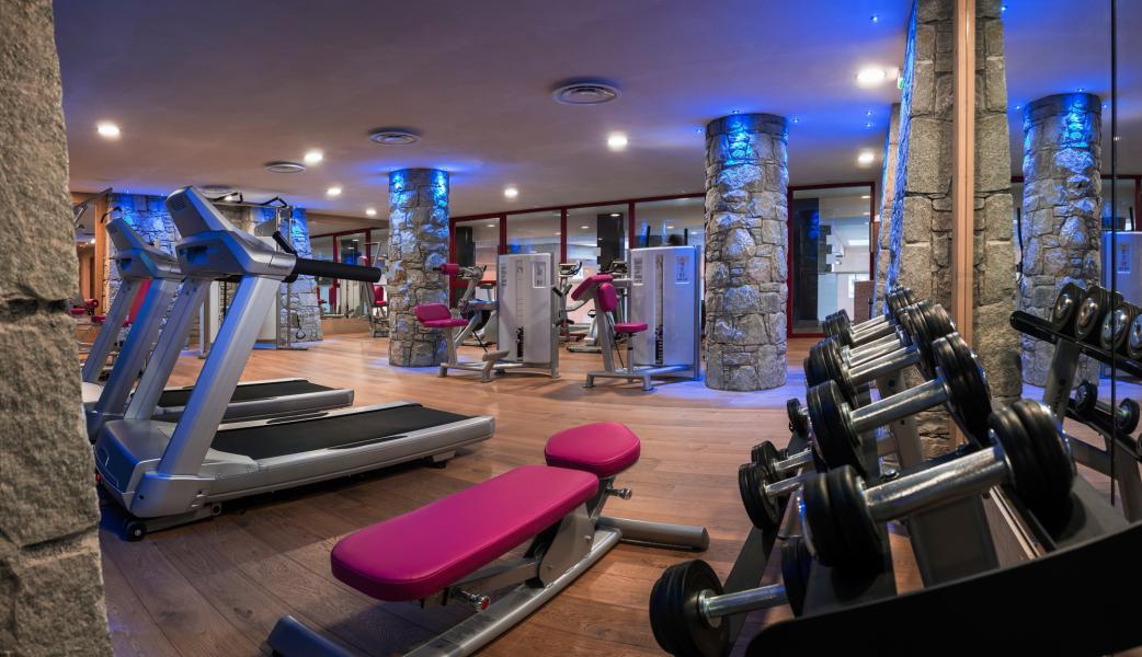 Location au ski Residence Le Centaure - Flaine - Espace fitness