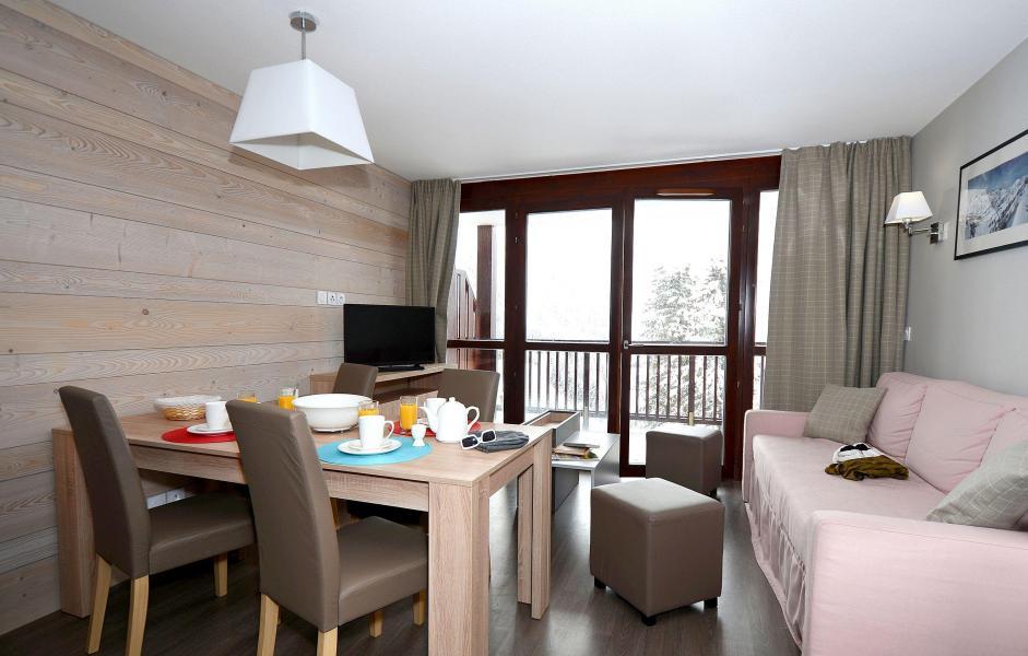 Location au ski Residence Le Panoramic - Flaine - Séjour