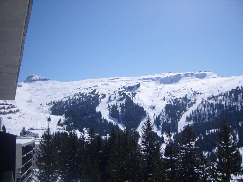 Аренда на лыжном курорте Résidence les Pléiades - Flaine - зимой под открытым небом