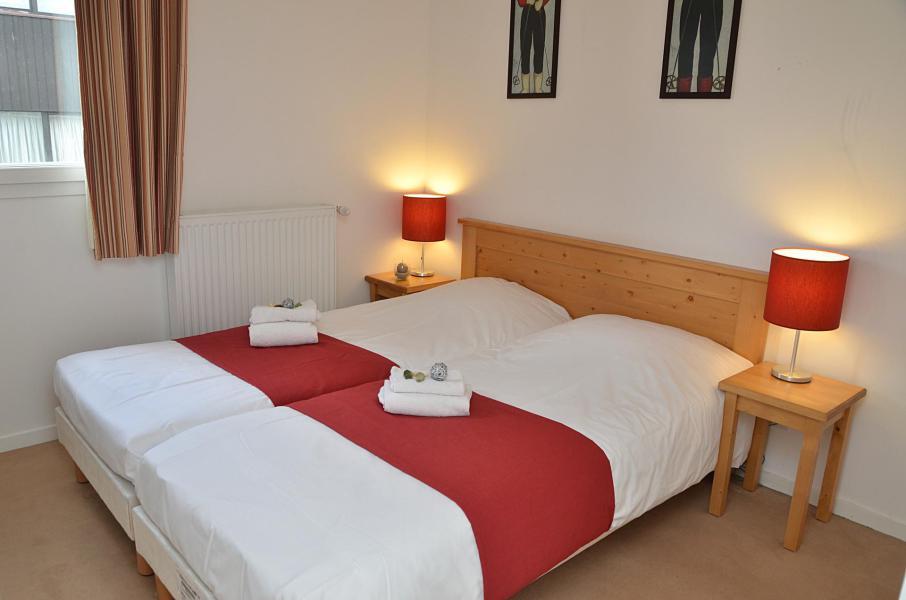Аренда на лыжном курорте Résidence les Pléiades - Flaine - Двухспальная кровать