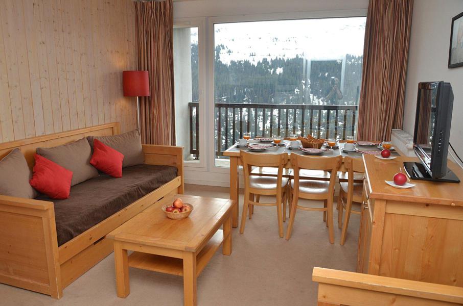 Аренда на лыжном курорте Résidence les Pléiades - Flaine - Диван кровать