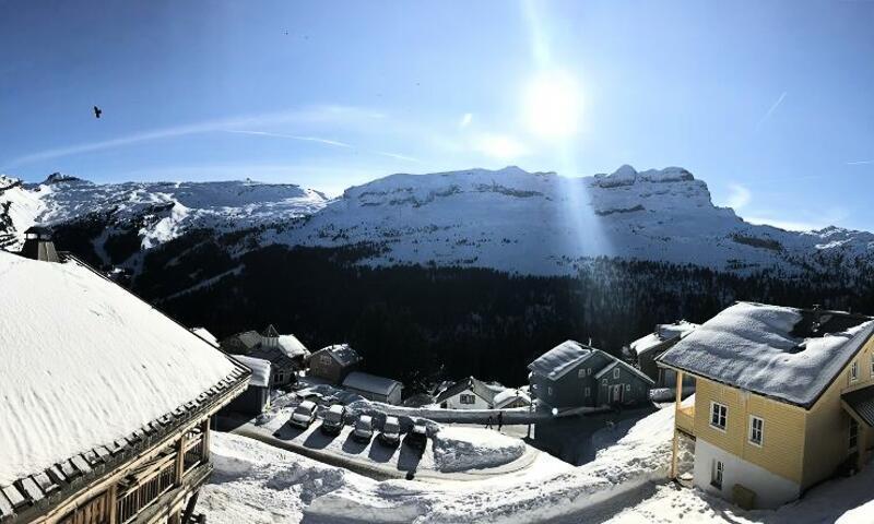 Vacances en montagne Résidence les Portes du Grand Massif - Maeva Home - Flaine - Extérieur hiver