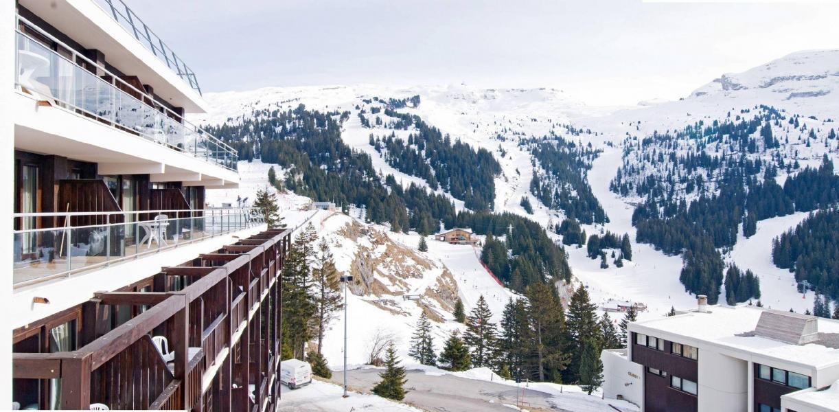 Wynajem na narty Résidence les Terrasses de Veret - Flaine - Zima na zewnątrz