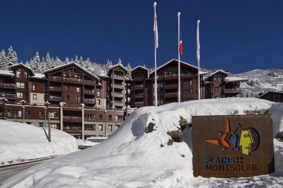 Vakantie in de bergen Résidence P&V Premium les Terrasses d'Eos - Flaine - Buiten winter