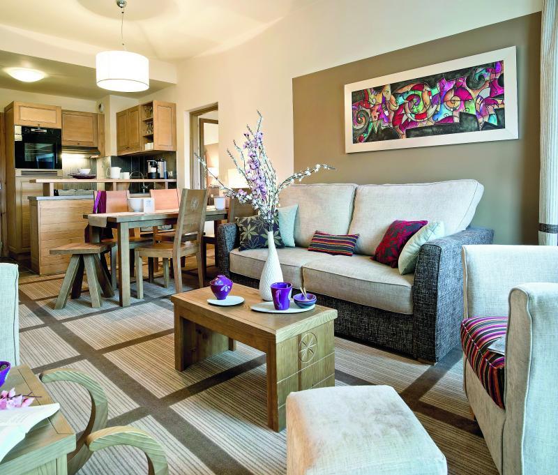 Location au ski Résidence P&V Premium les Terrasses d'Eos - Flaine - Coin séjour