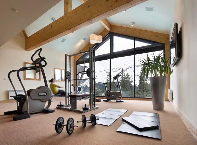 Location au ski Résidence P&V Premium les Terrasses d'Eos - Flaine - Espace fitness