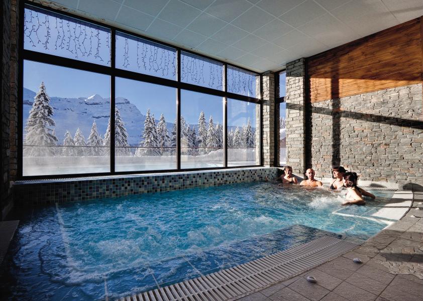 Location au ski Résidence P&V Premium les Terrasses d'Eos - Flaine - Jacuzzi