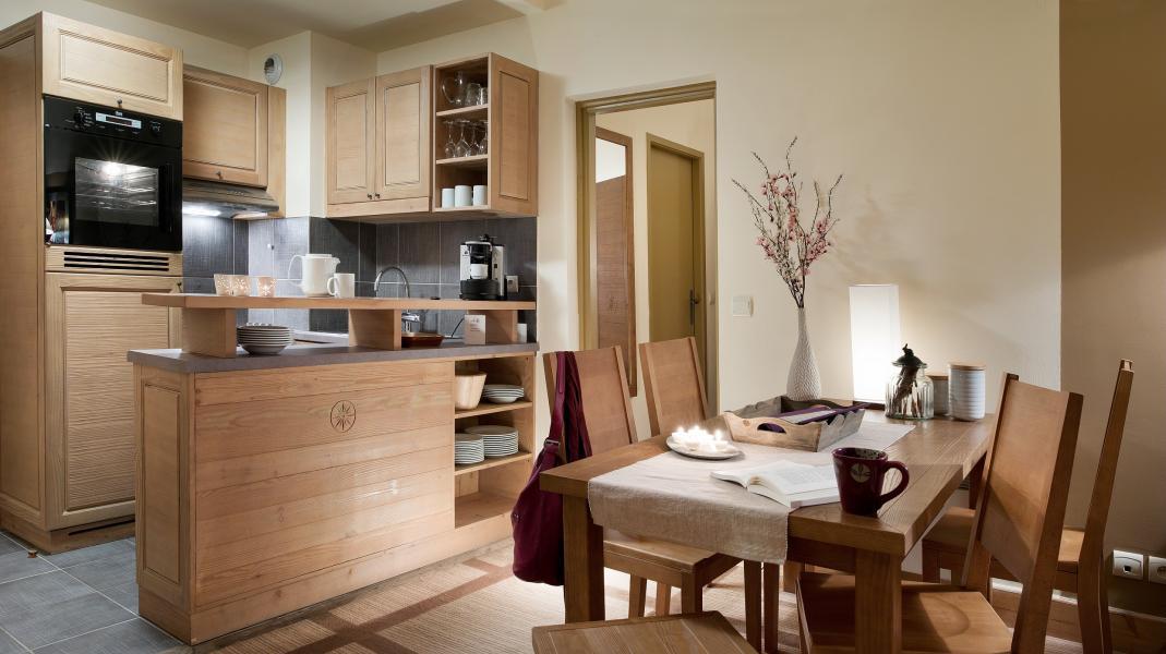 Wynajem na narty Résidence P&V Premium les Terrasses d'Eos - Flaine - Kuchnia