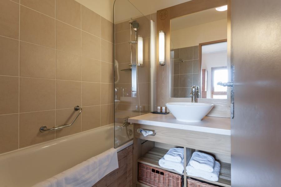 Location au ski Résidence P&V Premium les Terrasses d'Eos - Flaine - Salle de bains