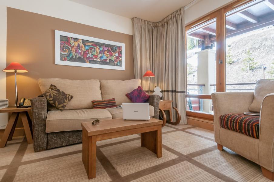 Alquiler al esquí Résidence P&V Premium les Terrasses d'Eos - Flaine - Sofá