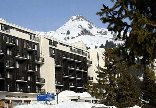 Location au ski Résidence Pierre & Vacances la Forêt - Flaine - Extérieur hiver