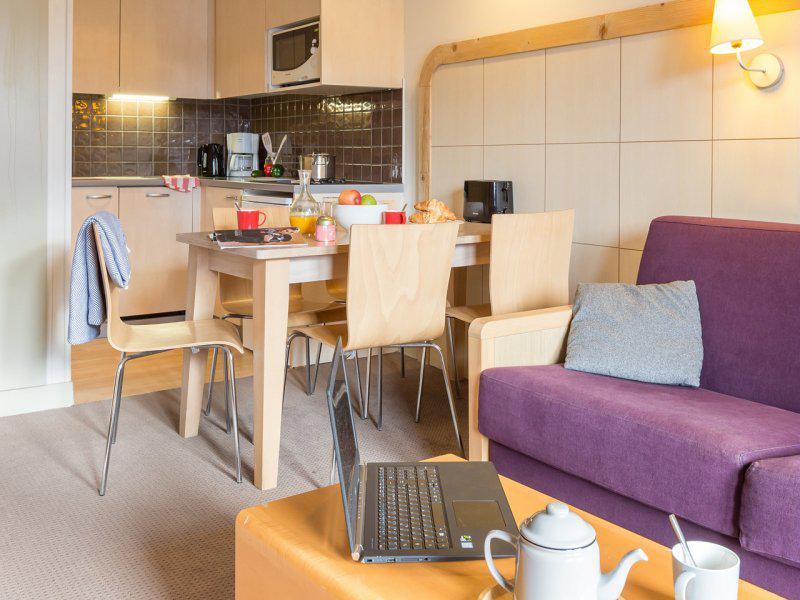 Location au ski Appartement 2 pièces 3-5 personnes (Sud) - Résidence Pierre & Vacances la Forêt - Flaine